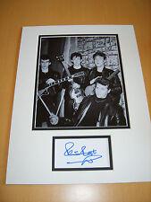 Pete Best The Beatles Genuine signed authentic autograph UACC / AFTAL