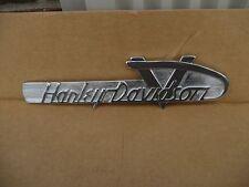 Vintage Harley Davidson Panhead Shovel Head V Gas Tank Emblem