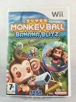 Super Monkey Ball Banana Blitz Nintendo Wii & Wii U Game   FREE 1ST CLASS UK P&P