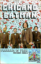 CHICANO BATMAN Freedom Is 2017 Ltd Ed RARE Poster +FREE Rock Soul Indie Poster!