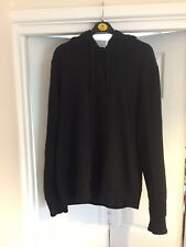 Men's Black Ten C Hoodie Hooded Top Size Medium Large Used Stone Island C.P XL
