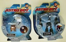 ASTRO BOY THE MOVIE TRASHCAN - WEAPONS DRONE & PEACE-KEEPER ACTION FIGURES NIB
