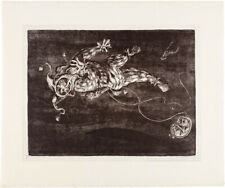 A. Paul Weber - Der Astronaut III, Originalgraphik, NEU, Kunst, Geschenkidee