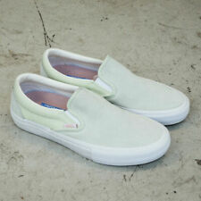 Vans Off the Wall Slip On Pro Ambrosia Green White Shoes Mens 13