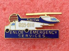Pins Médical ENLOE EMERGENCY SERVICES à CHICO CALIFORNIE Helicoptere Flight Care