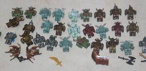 Mega Bloks Castle Knights Warriors Minifigure Minifigs Army Lot