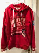 NEW YORK RANGERS WINTER CLASSIC 2012 ZIPPER HOODIE MITCHELL & NESS - MENS L