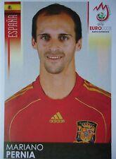 Panini 422 Mariano Pernia Spanien UEFA Euro 2008 Austria - Switzerland