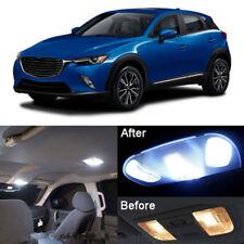 9Pcs White Interior LED Lamp Bulbs Light Package Kit For 2016 Mazda CX-3 CX3 MP