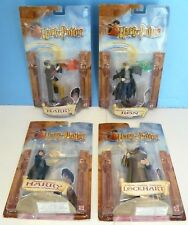 Harry Potter Chamber Of Secrets ~Lot of 4 Figures (2002) Ron/ 2 Harry/ Lockhart