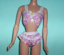 Barbie Dreamy Touches Fashions Leopard Print Lingerie Set Doll Bra /& Panties NEW