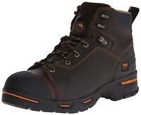 "Timberland PRO Men's 52562 Endurance 6"" PR Work Boot, Brown, Size 15.0 S0vI"