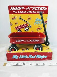 Radio Flyer New In Box NIB 1998 Mini My Little Red Wagon Doll Size Model #901