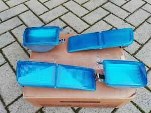 VW Golf/Jetta 3 Mk3 Vento GTI 16V TDI VR6 syncro TYC Blue Turn Signals MHW-Style