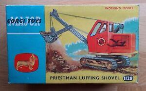 Corgi Major Priestman Luffing Shovel #1128 NM model in original NM BOX