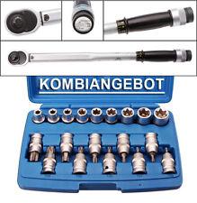"Automatischer Drehmomentschlüssel 1/2"" 40-210NM + Steckschlüsselsatz E-Torx"