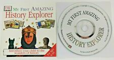 Dk My First Amazing History Explorer Pc Cd-Rom & Inserts Only (1998) Ages 6-10