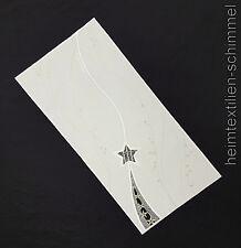 Plauener spitze Tischdecke Weihnachten Deckchen Stern Tischdeckchen 25x55cm