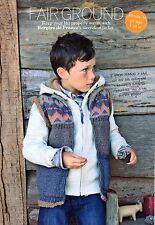 ~ Knitting Pattern For Child's Lovely Fair Isle Body Warmer ~