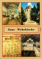Ansichtskarte Zaue-Schwielochsee Cowje Wehrkirche 1988
