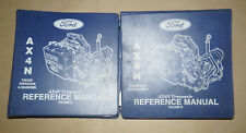 1994 Ford AX4N Transaxle Theory Operation & Diagnostic Shop Manual 2-Volume Set