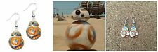 Star Wars Movie BB-8 Droid Color Dangle Earring W/Gift Box US Seller