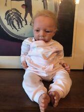 Beautiful reborn Realistic baby girl Doll finn sculpt