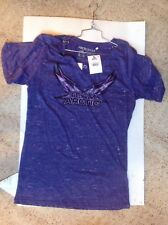 Arctic Cat Woman's V-Neck Slumber Shirt Purple 5243-909