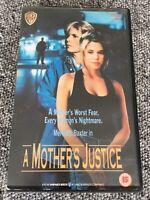 A Mothers Justice Rare 1991 VHS BIG BOX EX RENTAL - Warner Home Video