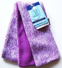 Strick Fleece Schal 110cm Sterntaler NEU m.E lila violet meliert kinder winter