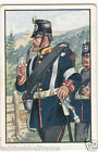 Infantry Feldwebel Prussia 1866 Deutsches Heer Germany Uniform IMAGE CARD 30s