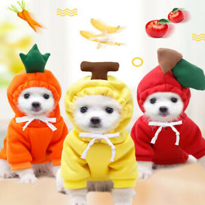 Dog Hoodie Warm Winter Coat Sweater Clothing Pet Puppy Knitwear Costume Jumper