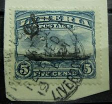 LIBERIA Old Stamps Used - GOOD SHIP PAQUEBOT LIVERPOOL GB Cancel - VF - r96e8414