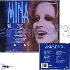 """MINA """"HIT PARADE 1966-1967"""" RARO CD '94 STAMPA SPAGNOLA"""