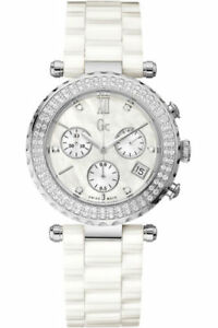 GUESS COLLECTION A22101M1,Ladies,Diamonds On Bezel,Sapphire,Screw Crown,100m WR