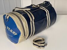 FRED PERRY Classic Barrel Bag Navy & Ivory