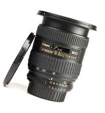 Nikon AF 18-35mm F3.5-4.5 D IF ED Nikkor Zoom Lens + Front & Rear Lens Caps