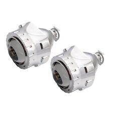 """Safego 2.5"""" Mini Bi-Xenon car HID Projector Lens kit Chrome Shroud Headlight"""