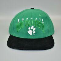 Ohio Bobcats NCAA Vintage 90's Twins Enterprise Strapback Cap Hat - NWT