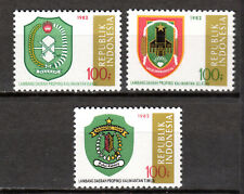 Indonesia - 1982 Coats of Arms (IV) - Mi. 1048-50 MNH