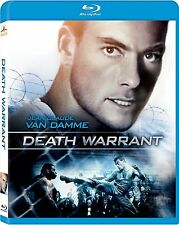 Blu Ray DEATH WARRANT uncut. Jean Claude van Damme. UK compatible. New sealed.