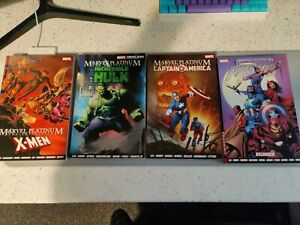 Marvel Platinum Graphic Novel Bundle - Avengers , X Men , Hulk , Captain America