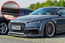 Spoilerschwert Frontspoiler ABS für Audi TT TTS 8S S-Line schwarz glänzend