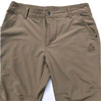 Gerry Adventure Pant Hiking Outdoors Cargo Stretch Tan Khaki Mens Large 36 X 30