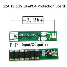 12A 1S 3.2V LiFePO4 Lithium Iron Phosphate Battery Input Ouput Protection *Board