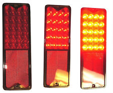 19 67 68 69 70 71 72  Chevy C10 GMC Truck Red LED Fleetside Taillight CTL6721LED