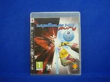 ps3 WIPEOUT HD FURY Game Classic Wipe Out REGION FREE Pal English