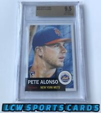 Pete Alonso 2019 Topps Living ROOKIE CARD RC BGS 9.5 Gem Mint LOW POP METS ROY