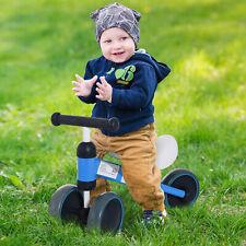 Triciclo Bicicleta sin Pedales para Niño 1-3 Años Sillón Cómodo Aluminio