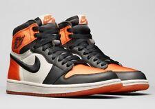 Nike Air Jordan 1 Satin Shattered Backboard Sz W 11 / M 9.5 AV3725-010 bred toe